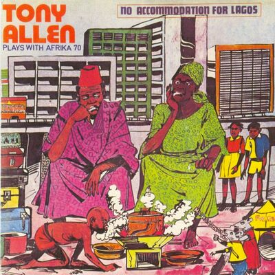 African Message - Tony Allen With Africa 70