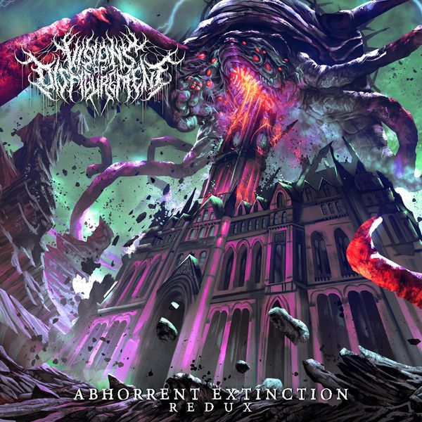 Visions Of Disfigurement - Forced Urophagia (Redux) [single] (2021)
