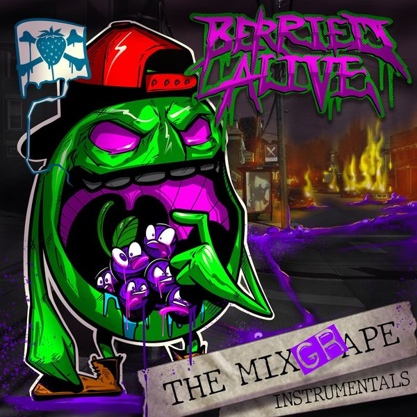Berried Alive - The Mixgrape Instrumentals (2021)