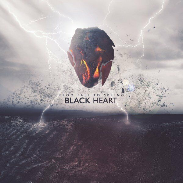 From Fall to Spring - BLACK HEART [single] (2021)