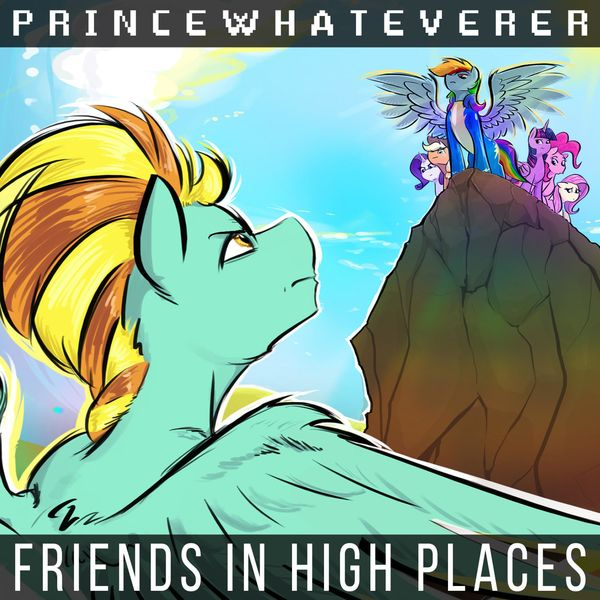 PrinceWhateverer - Friends in High Places [single] (2021)
