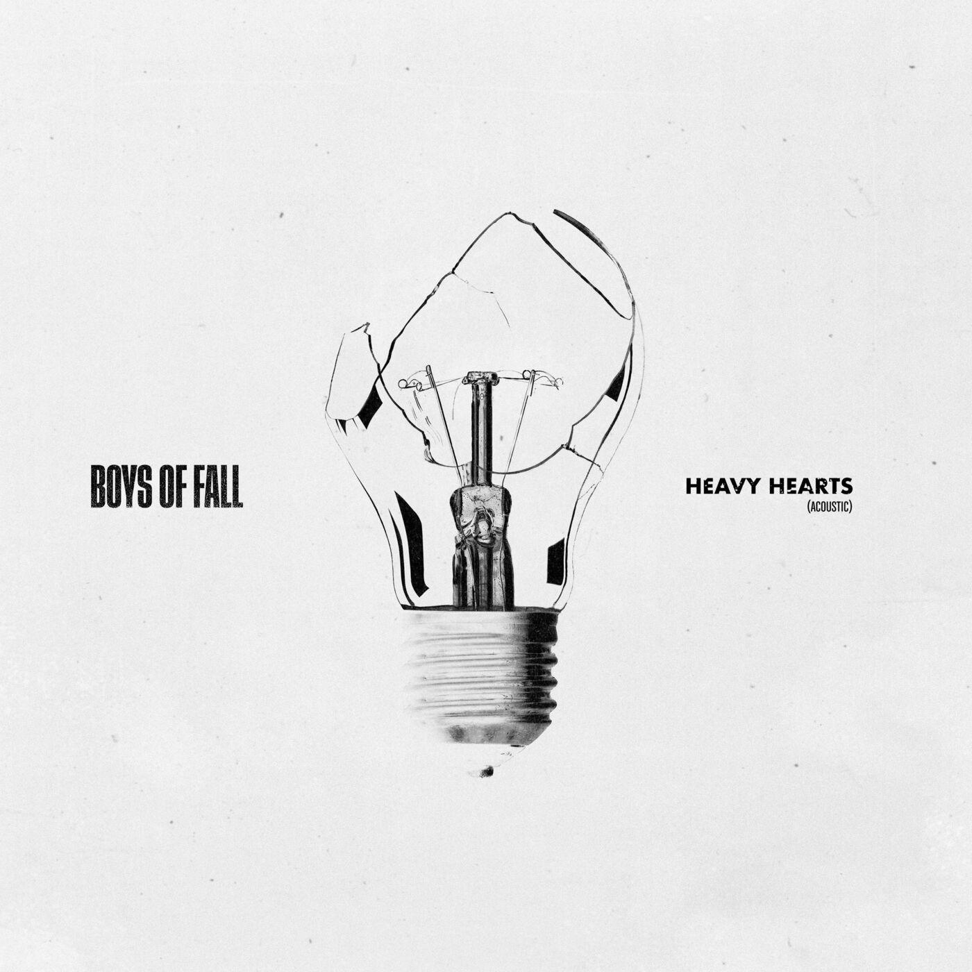 Boys of Fall - Heavy Hearts (Acoustic) [single] (2021)